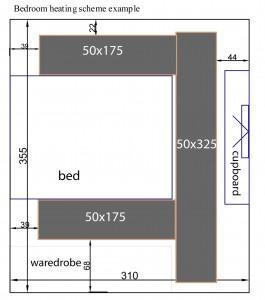 bedroom-heating-scheme-example-installation